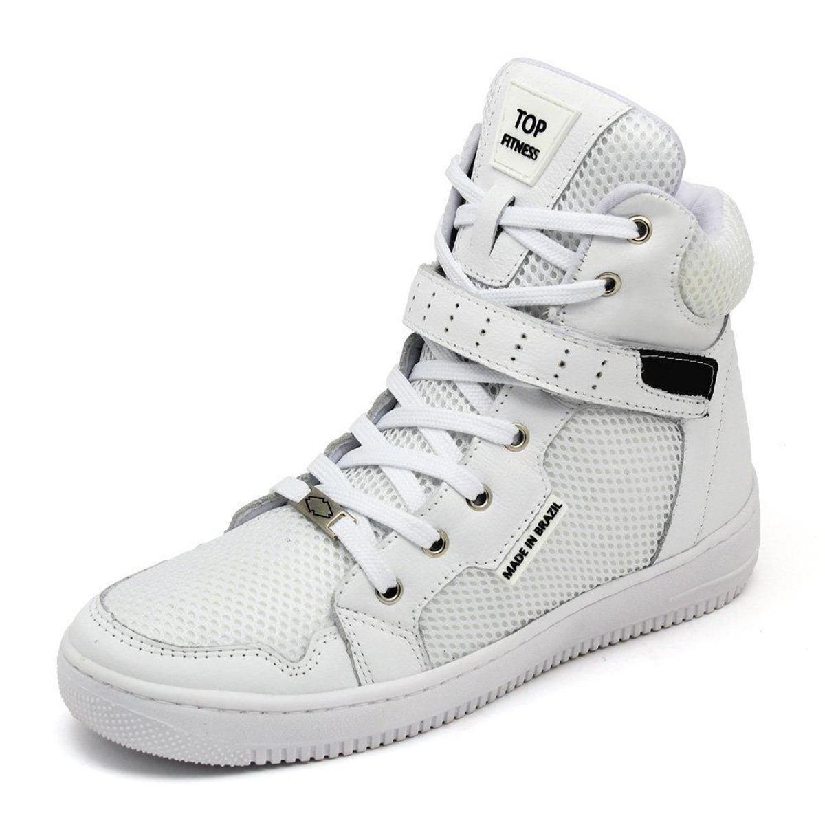 Tênis sneaker fitness azul bic e branco - R$ 199.90, cor