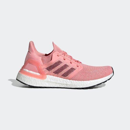 Tênis Ultraboost 20 Adidas - Rosa