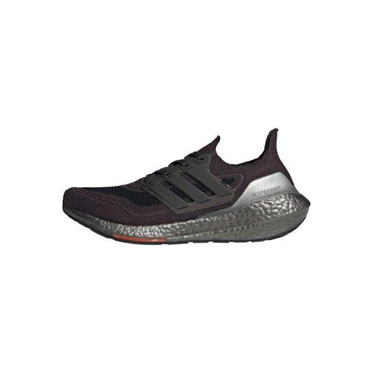 Tênis Ultraboost 21 Adidas - Cinza+Branco