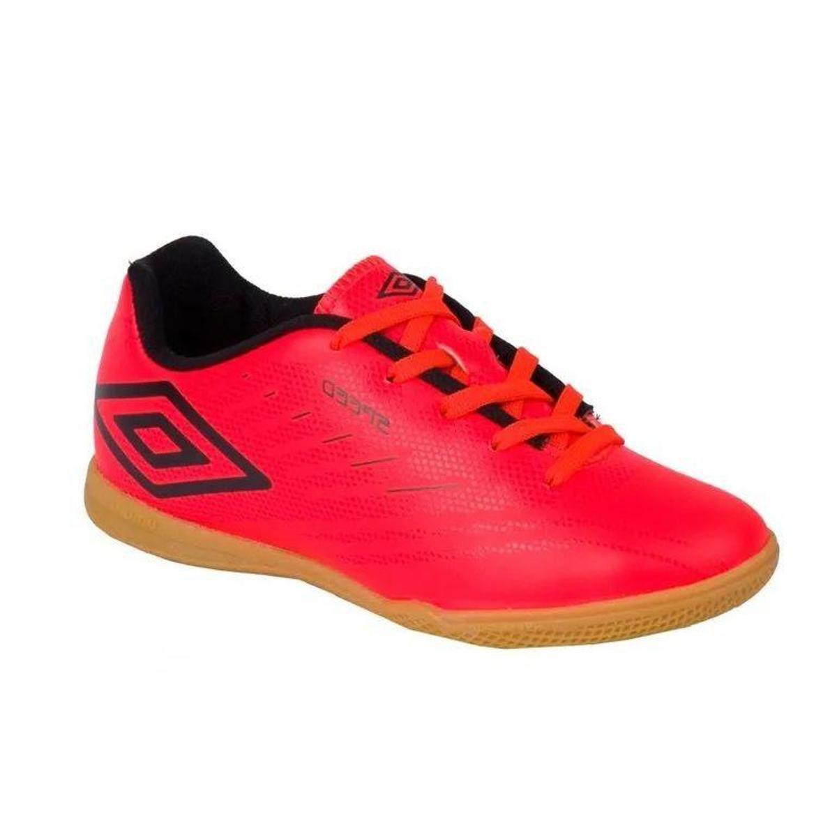 301c06ec13409 Tênis Umbro Speed IV JR Infantil Chuteira Futsal 0F82053 - Compre Agora