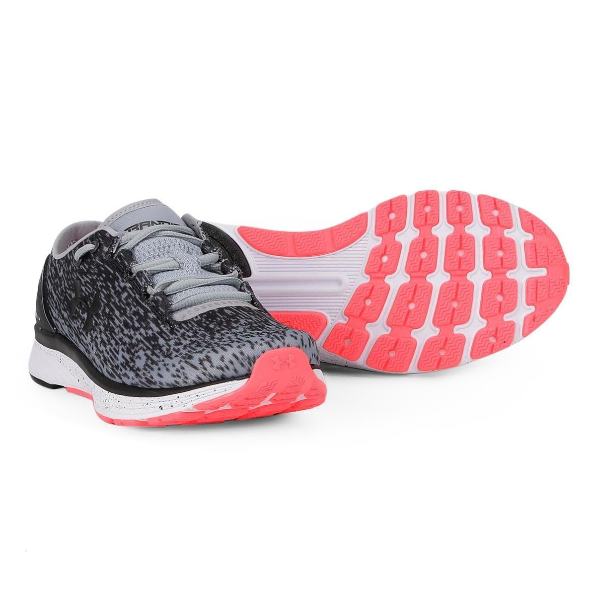 best value 0c51c 899af Tênis Under Armour Bandit 3 Ombre Feminino - Cinza
