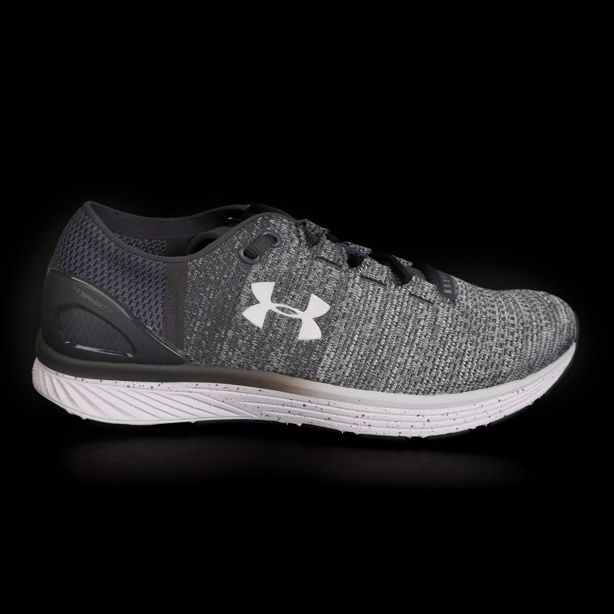 6c2ed8a405 Tênis Under Armour Charged Bandit 3 Masculino - Cinza e Branco ...
