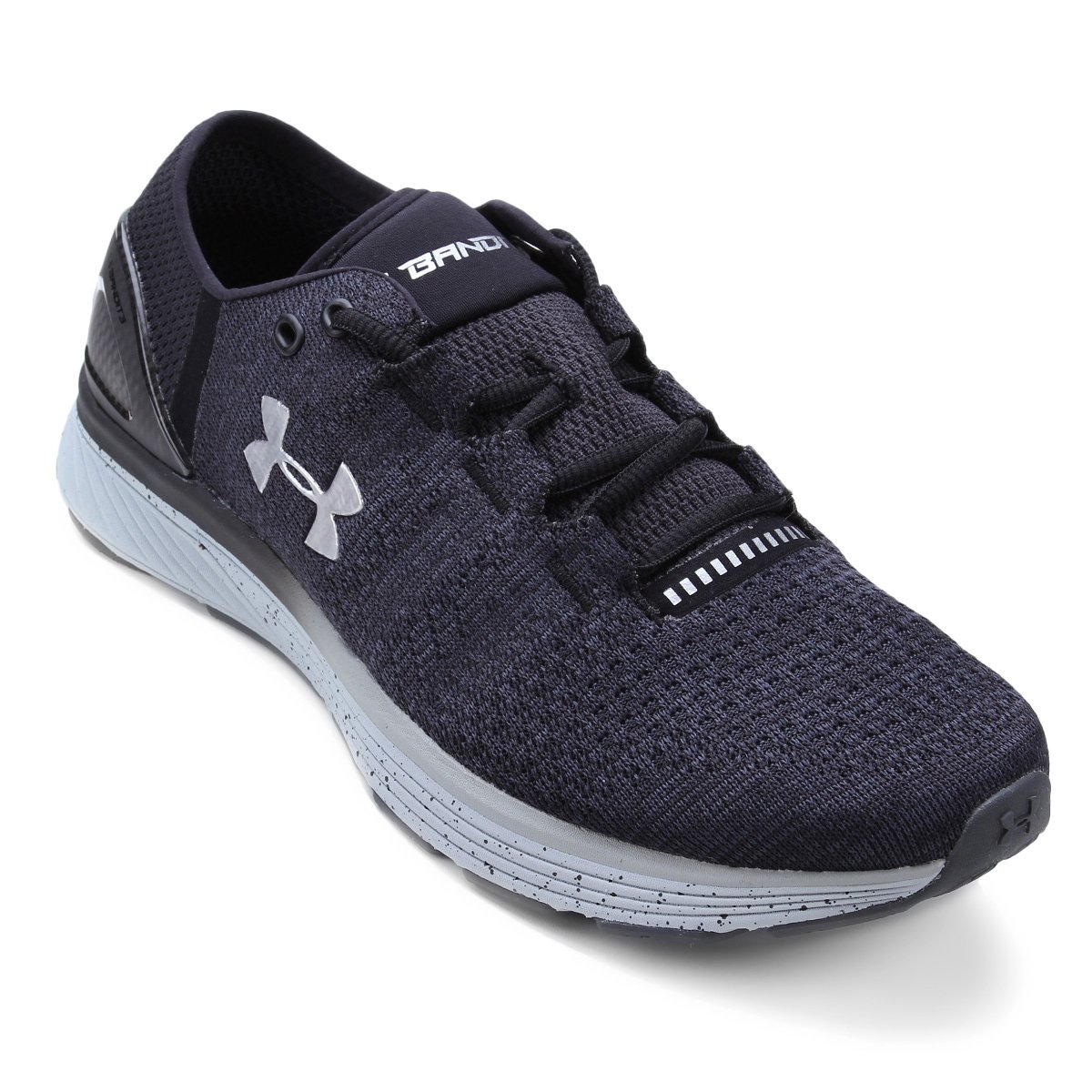 uk availability 17f4b c4303 Tênis Under Armour Charged Bandit 3 Masculino - Cinza e Preto