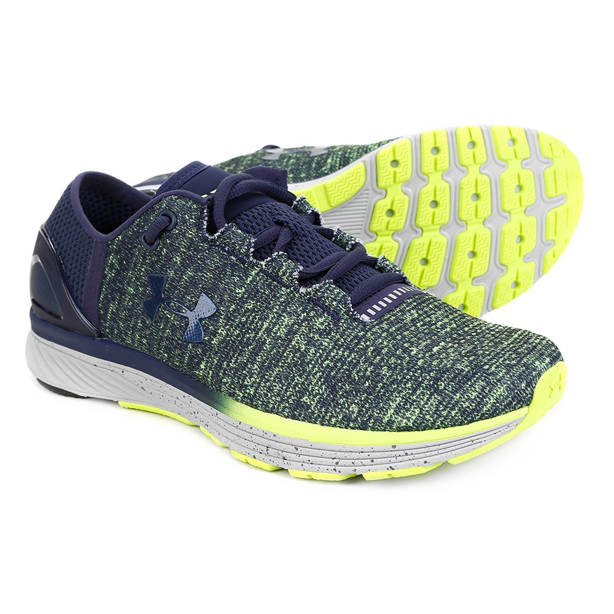 meet 5030c 0ce22 Tênis Under Armour Charged Bandit 3 Masculino - Verde e Azul