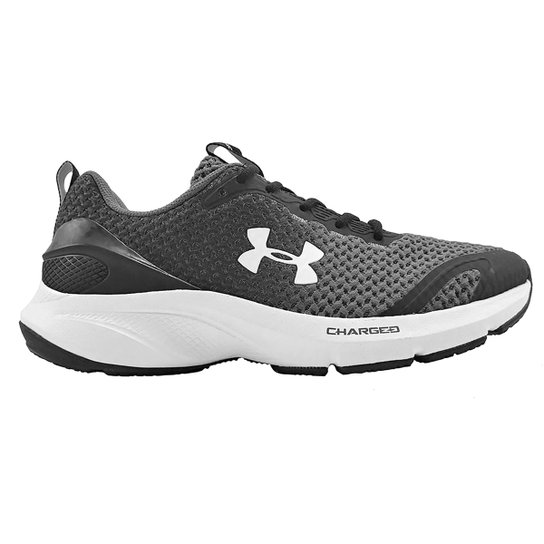 Tênis Under Armour Charged Prompt - Preto+Branco