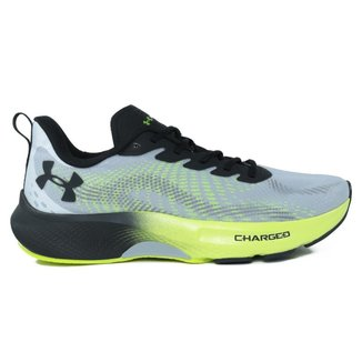 Tênis Under Armour Charged Pulse Masculino - Cinza e Verde - 42