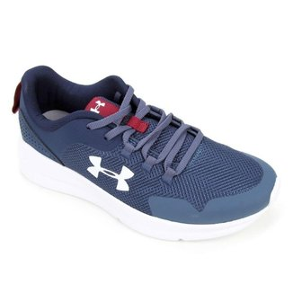 TENIS UNDER ARMOUR UA CHARGED PURSUIT 2 3024046 MRN BCO MASCULINO