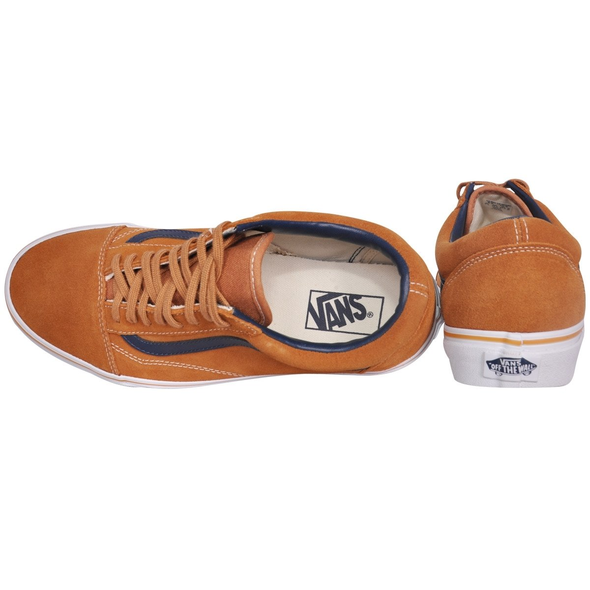 435b2afbd5f735 Tênis Vans Old Skool Suede Leather Brown Sugar - Compre Agora