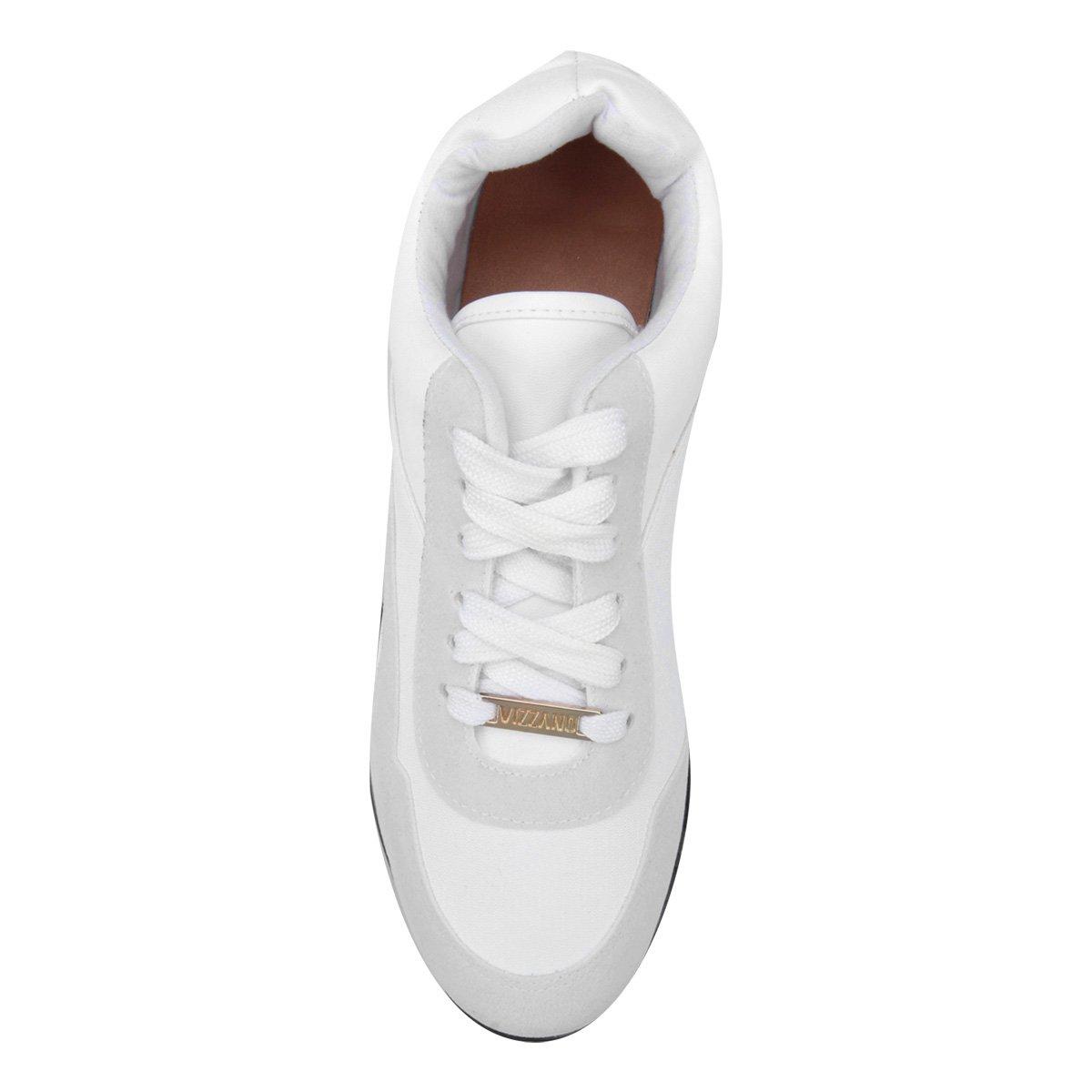 Vizzano Tênis Jogging White Feminino Básico Tênis Vizzano Off 5Eqnx45