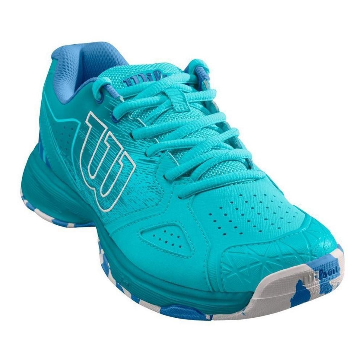 Tênis Wilson Kaos DEVO Feminino - Azul - Compre Agora  9a65f628bf65d