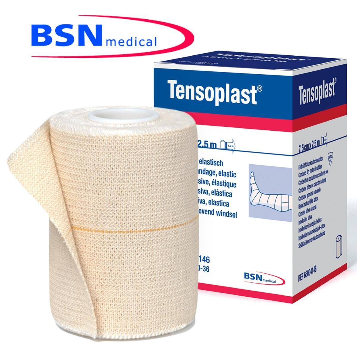 Tensoplast - Bandagem adesiva elástica de algodão e rayon 10CM X 4 ... e9a2c976ad15c