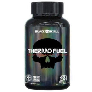 Termogenico com L-Carnitina Thermo Fuel 60 Capsulas - Black Skull