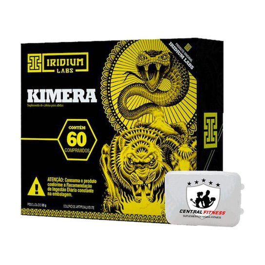 Termogênico Kimera 60 Cápsulas + Porta Cápsulas - Iridium Labs -