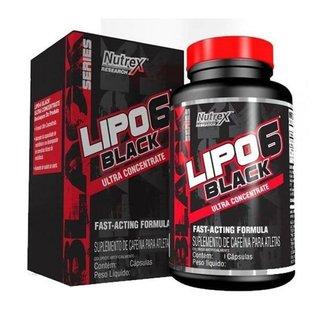 Termogenico Lipo 6 Black UC 60 Cápsulas - Nutrex