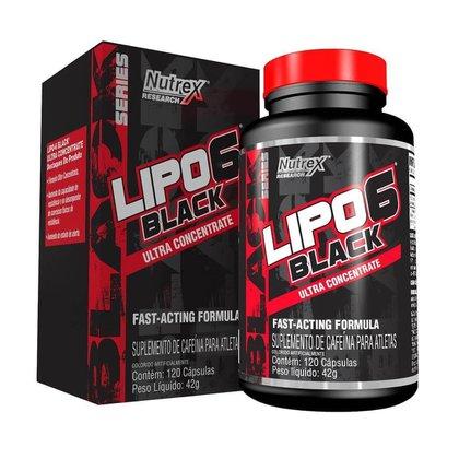 Termogênico Lipo 6 Black Ultra Contrentrado 120 Capsulas - Nutrex