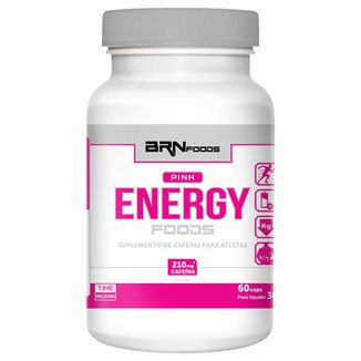 Termogênico Pink Energy Foods 60 Cáps - BRN Foods
