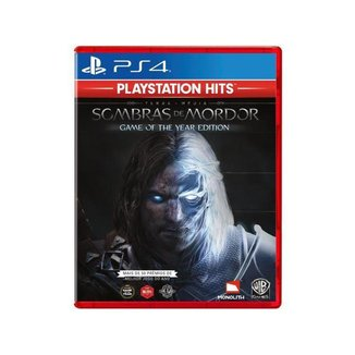 Terra-Média Sombras de Mordor GOTY para PS4
