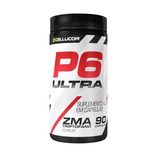 Test Booster P6 - Zma (90 Cápsulas) - Cellucor -