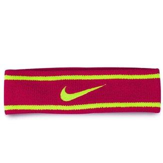 Testeira Nike Dri-Fit Headband Fuschia Force/Volt