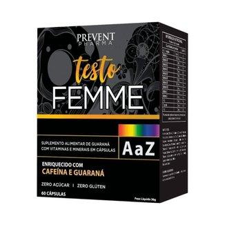 Testo Femme Multivitaminico A/Z c/60Cáps Prevent Pharma
