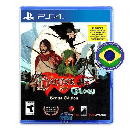 The Banner Saga Trilogy - Bônus Edition - PS4 - Incolor