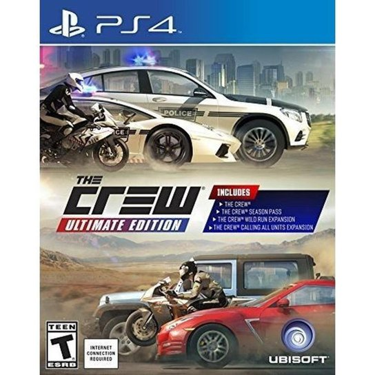 The Crew Ultimate Edition - Ps4 - Incolor