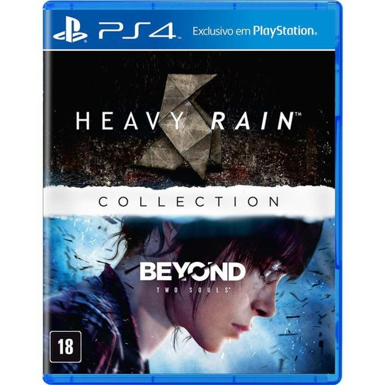 The Heavy Rain & Beyond Two Souls Collection - Ps4 - Incolor