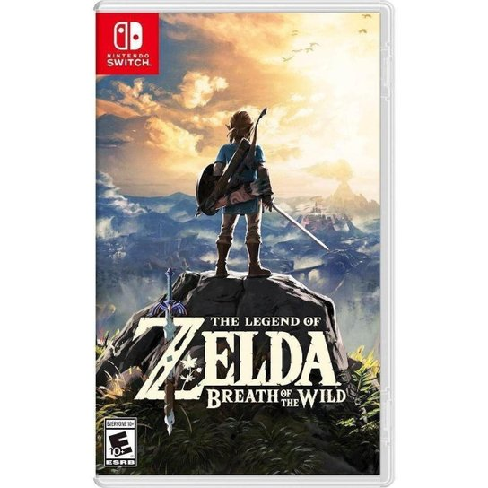 The Legend Of Zelda: Breath Of The Wild - Switch - Incolor