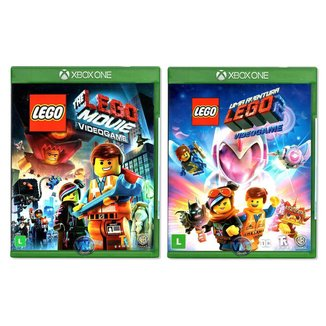 The Lego Movie Videogame - Uma Aventura Lego - 1 e 2 - Xbox One