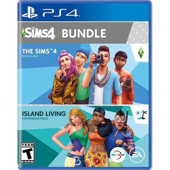 The Sims 4 + Island Living Bundle - PS4 - Incolor