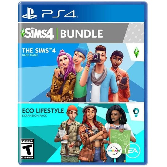 The Sims 4 Plus Eco Lifestyle Bundle - PS4 - Incolor