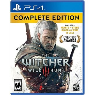 The Witcher 3: Wild Hunt Complete Edition - Ps4