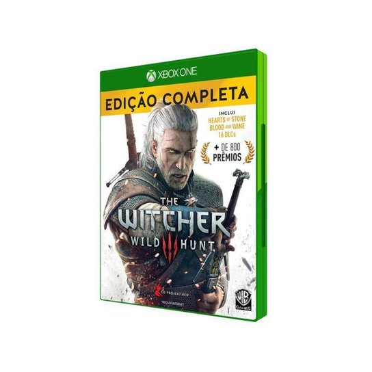 The Witcher 3: Wild Hunt Complete Edition - Amarelo+Branco