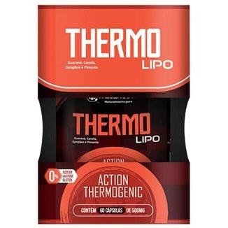 Thermo Lipo - Guar/Can/Geng/Pimenta 60 caps - Natunectar
