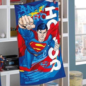 Toalha Banho Velour Infantil Menino Döhler Superman 15