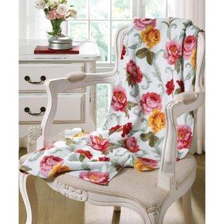 Toalha De Banho Estampa Floral 70x140 Francine Döhler - 10043576746