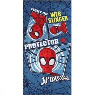 Toalha de Banho Spider Man Aveludada
