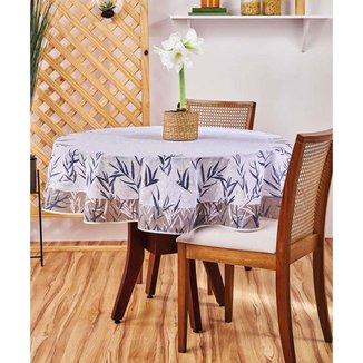 Toalha De Mesa Redondo Super Prática Thay Lepper - 10044143770