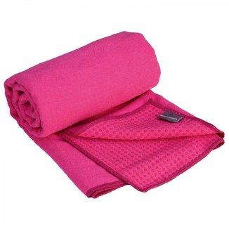 Toalha de Yoga Microfibra, Extra Absorvente, Indicada Hot Yoga, Asthanga e Vinyasa, 185cm x 68cm