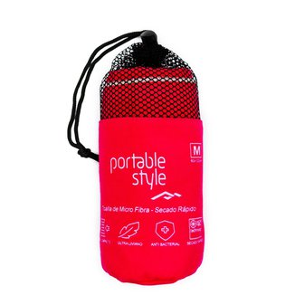 Toalha Microfibra - Portable Style - 120cm X 60cm
