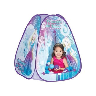 Toca Infantil Princesa da Neve com 60 Bolinhas