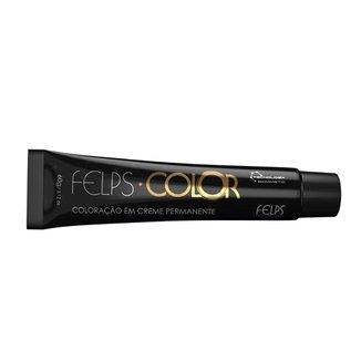 Tonalizante Felps Color - Tons Castanhos 55.71 Castanho Claro Intenso