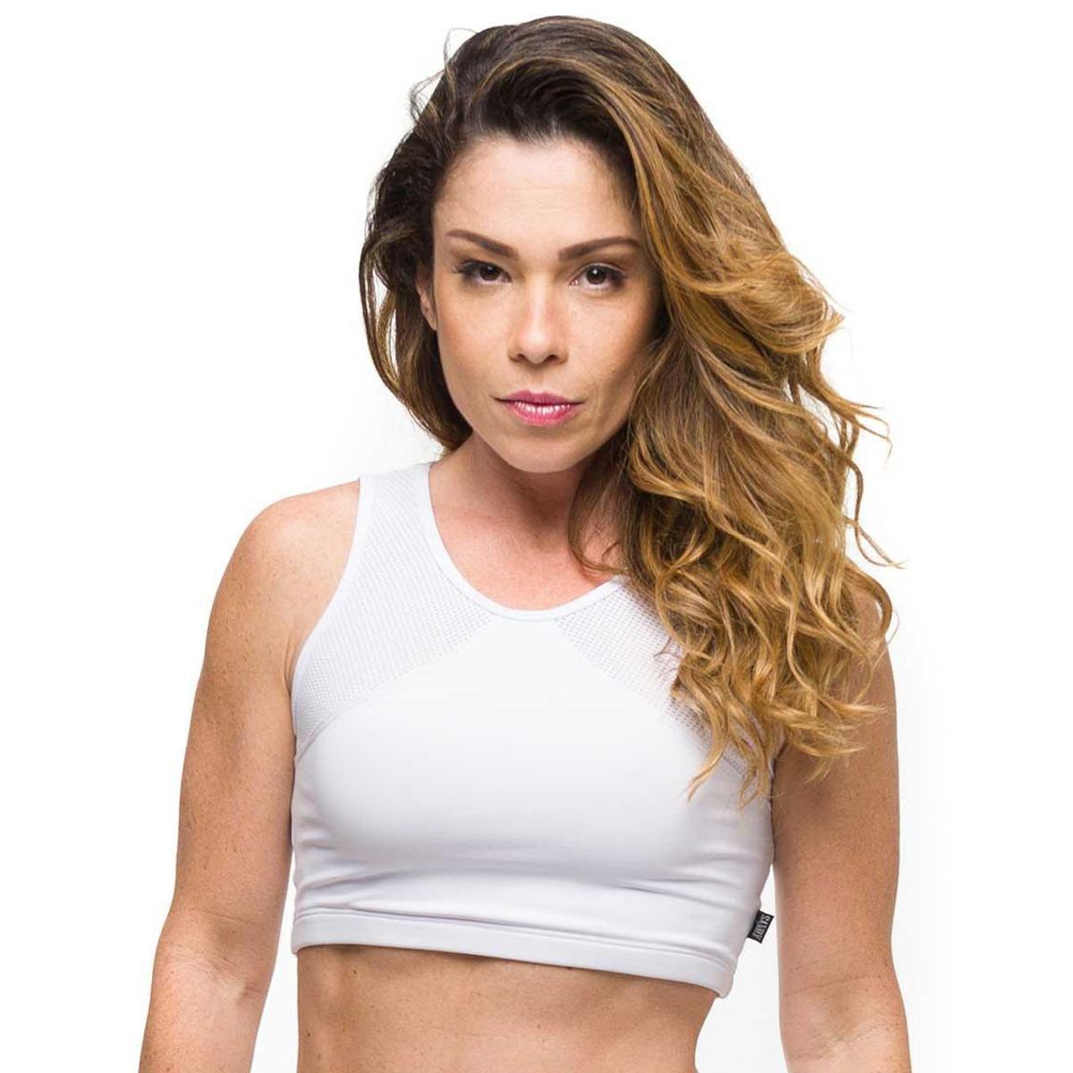 Top Basic Gym Top Fitness Branco Fitness Basic Sandy Top Gym Branco Basic Sandy 1OOxSACq