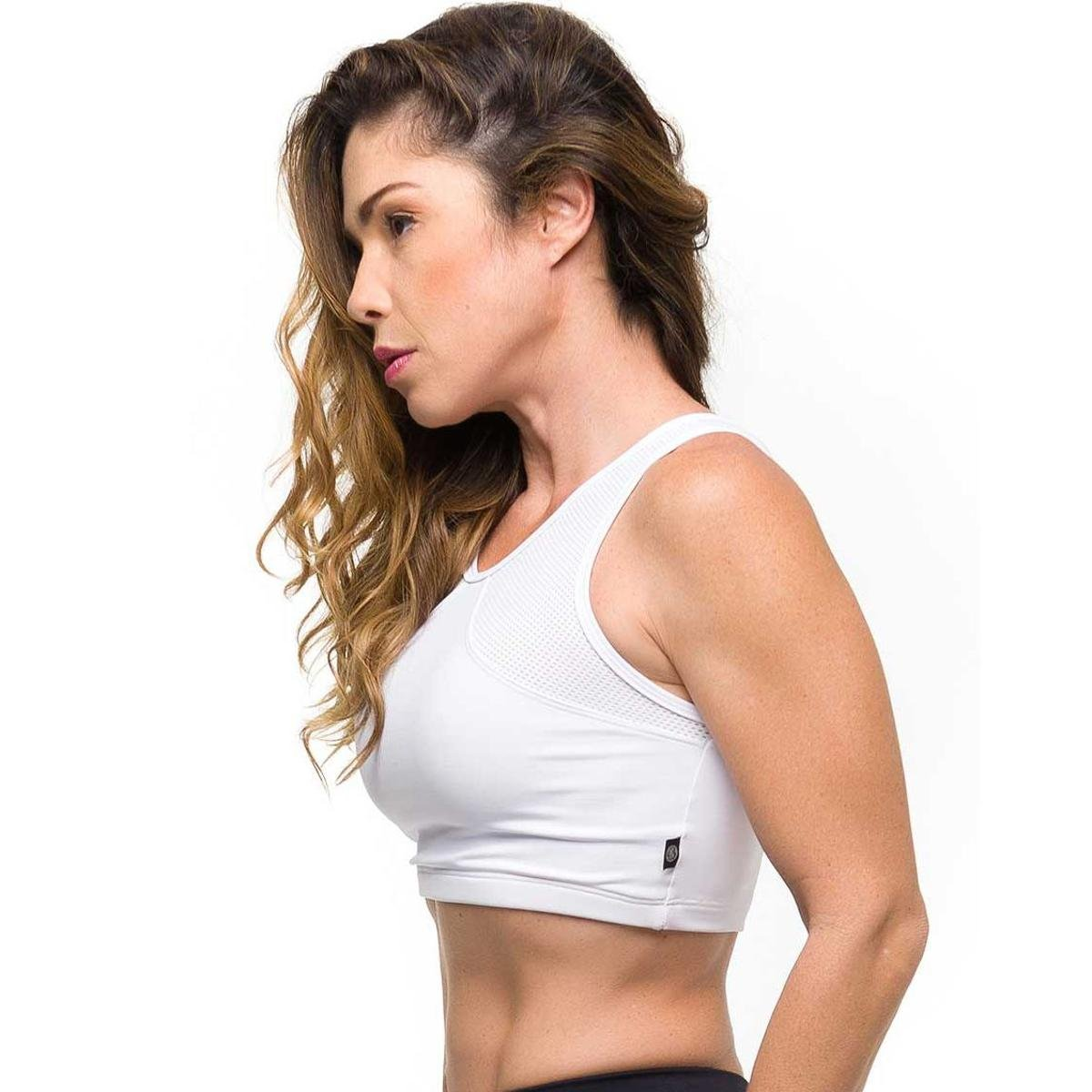 Branco Top Branco Basic Sandy Top Sandy Basic Fitness Fitness Top Gym Gym Sandy Gym Basic qwZE6Z8A