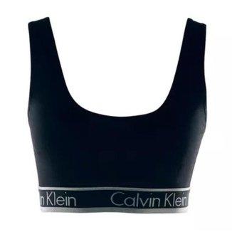 Top Calvin Klein Regata Cotton Preto