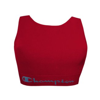 Top Champion Cropped Algodão L046 Vermelho - M