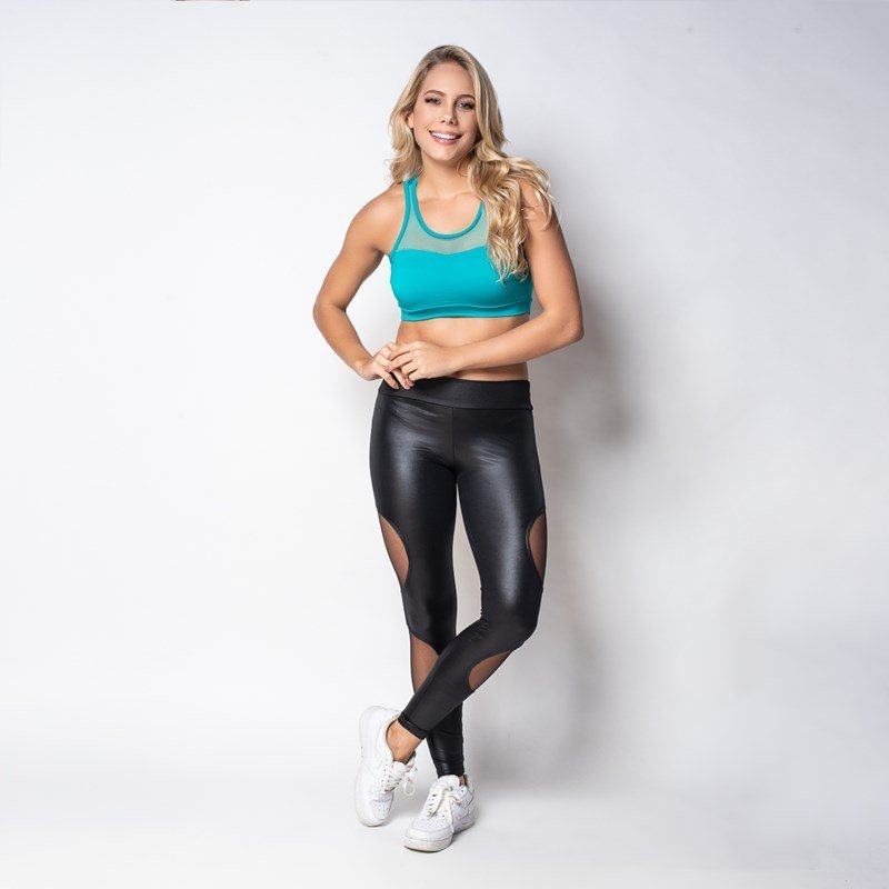 Fitness Top Bojo Strappy Click Com Fitness Chique Top Verde Click Com Strappy Chique tZtSqgHf