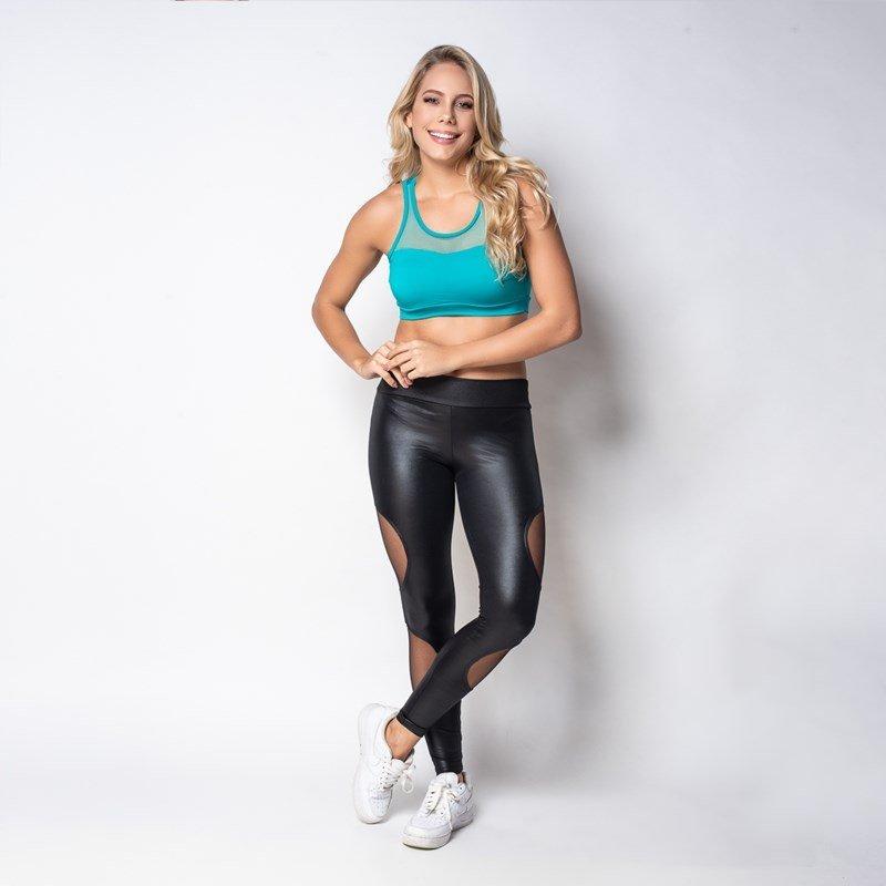 Com Top Chique Bojo Click Top Strappy Verde Chique Fitness Click 70qgExw0