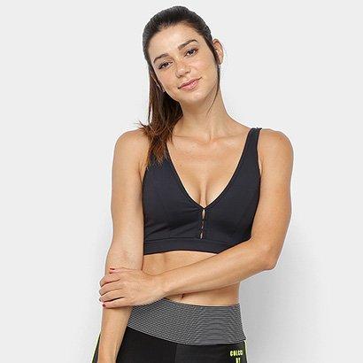 Top Colcci Fitness Média Sustentação - Feminino