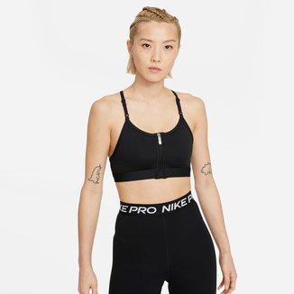 Top Com Bojo Removível Nike Indy Zip Front